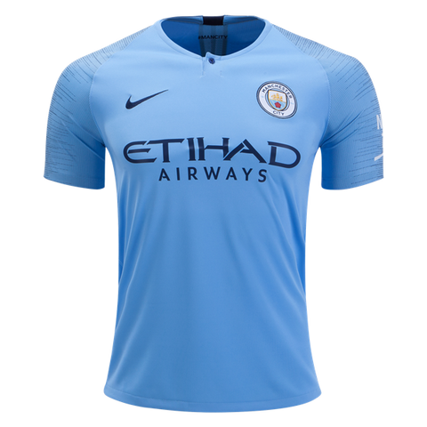 Manchester City 2018/19 Youth Home Jersey