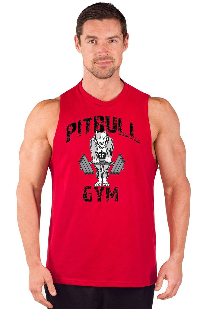 """Classic Muscles"" Cut Sleeve Muscle Tee"