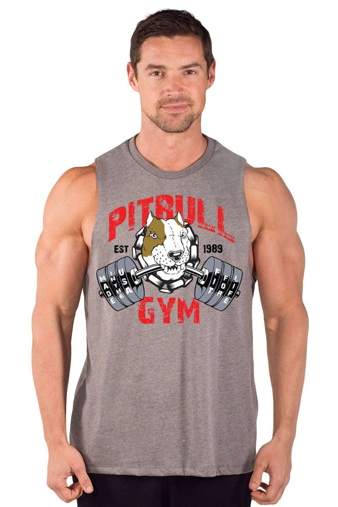 """Fit 4 Life"" Cut Sleeve Muscle Tee"