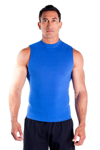 Cotton Lycra Sleeveless Tee