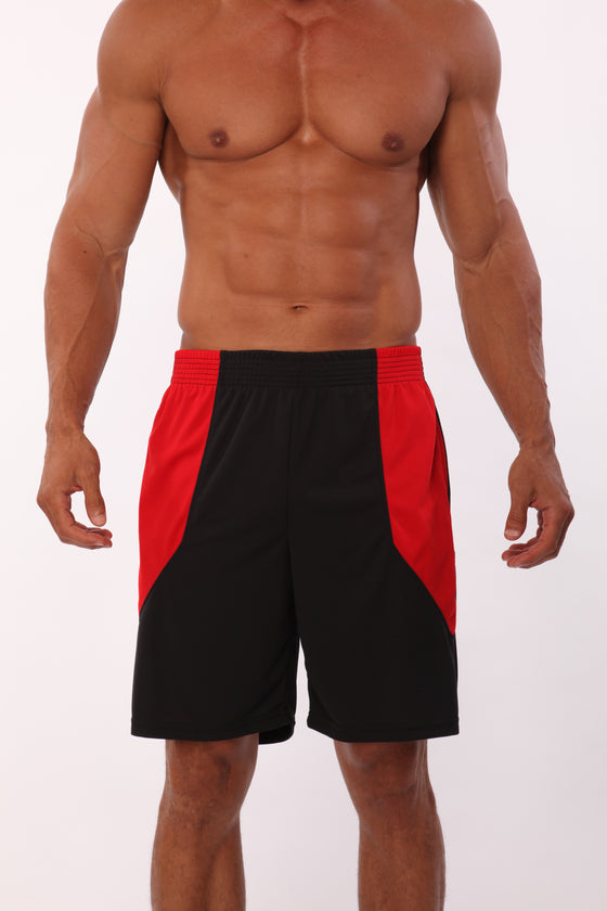 Two-Tone Panel Performance Shorts