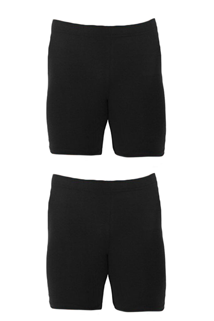 2 Pack - Compression Bike Short