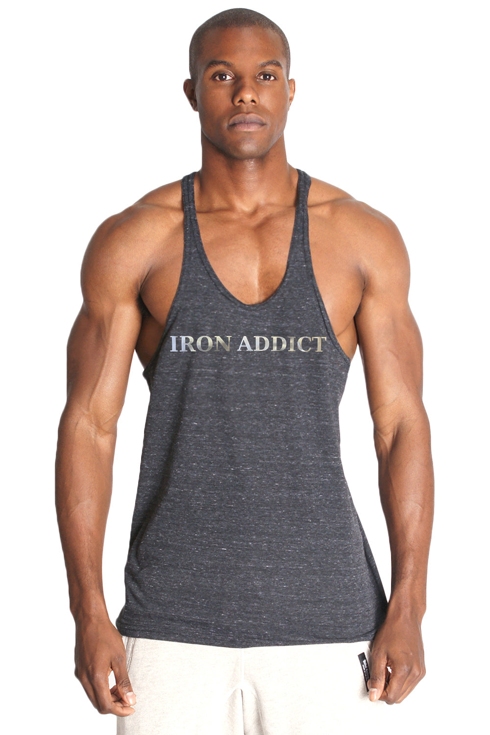 IRON ADDICT Triblend Stringer Tank