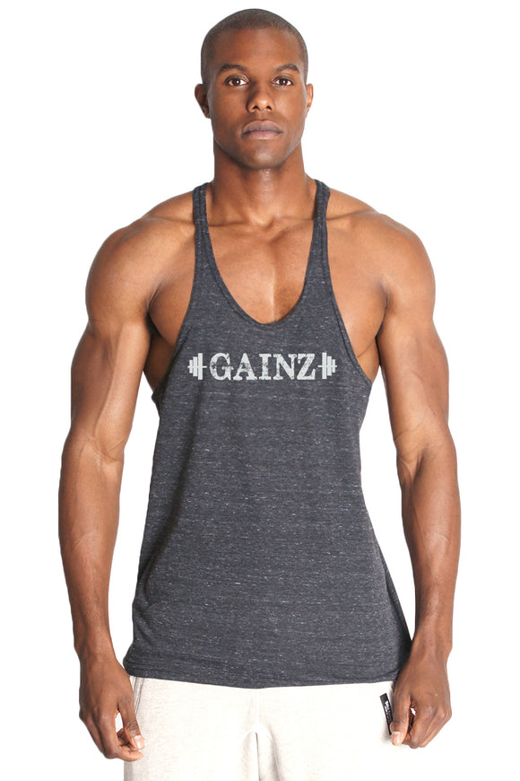 GAINZ Triblend Stringer Tank Top