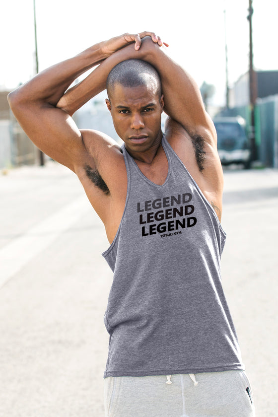 LEGEND Triblend Stringer Tank Top