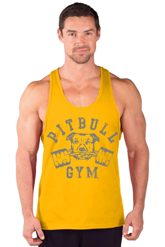 """Barbells"" Power Stringer Tank Top"