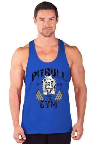 """Muscles"" Power Stringer Tank Top"