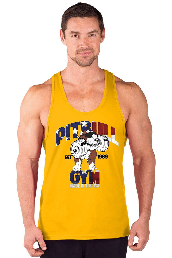 """Made in the USA"" Power Stringer Tank Top"