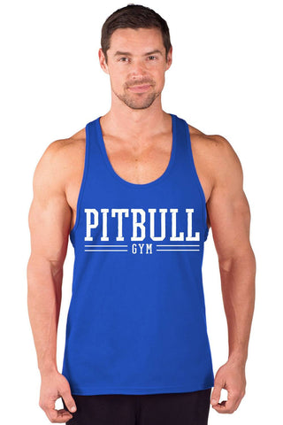 """Pitbull Gym Varsity"" Power Stringer Tank Top"