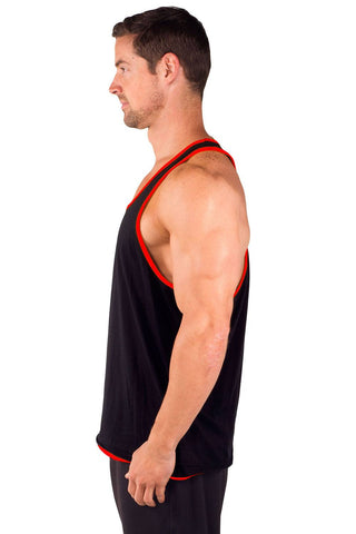 Two-Tone Power Stringer Tank