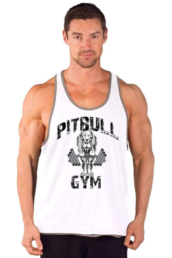 """Classic Muscles"" Two-Tone Power Stringer Tank"