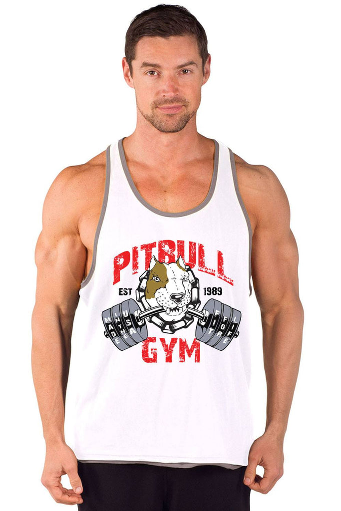 """Fit 4 Life"" Two-Tone Power Stringer Tank"