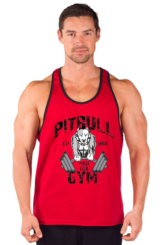 """Muscles"" Two-Tone Power Stringer Tank"