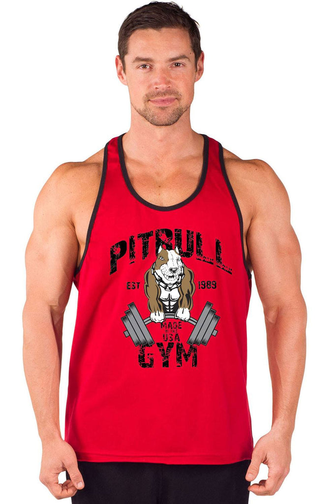 """Original Muscles"" Two-Tone Power Stringer Tank"