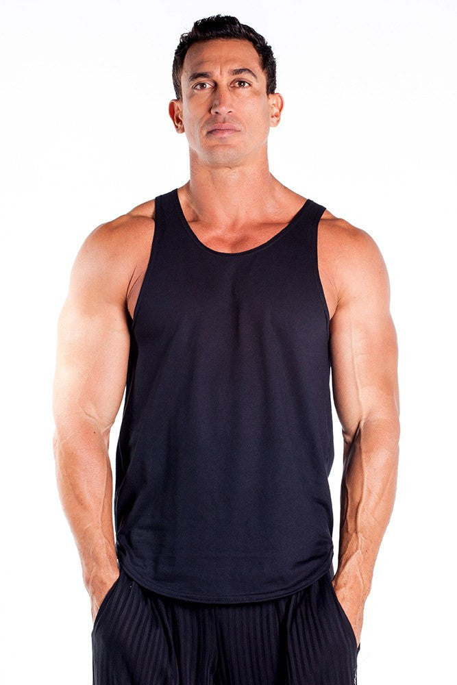 pitbull gym full cut workout tank top black body lifting apparel gym clothes quality tops