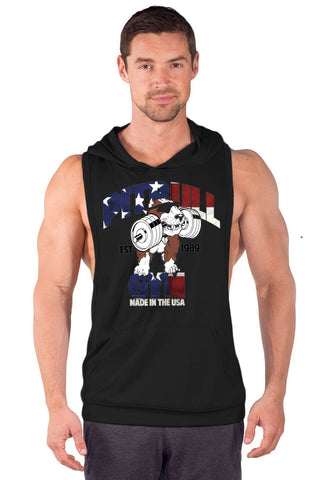 """Made in the USA"" Driwear Stringer Hoodie"
