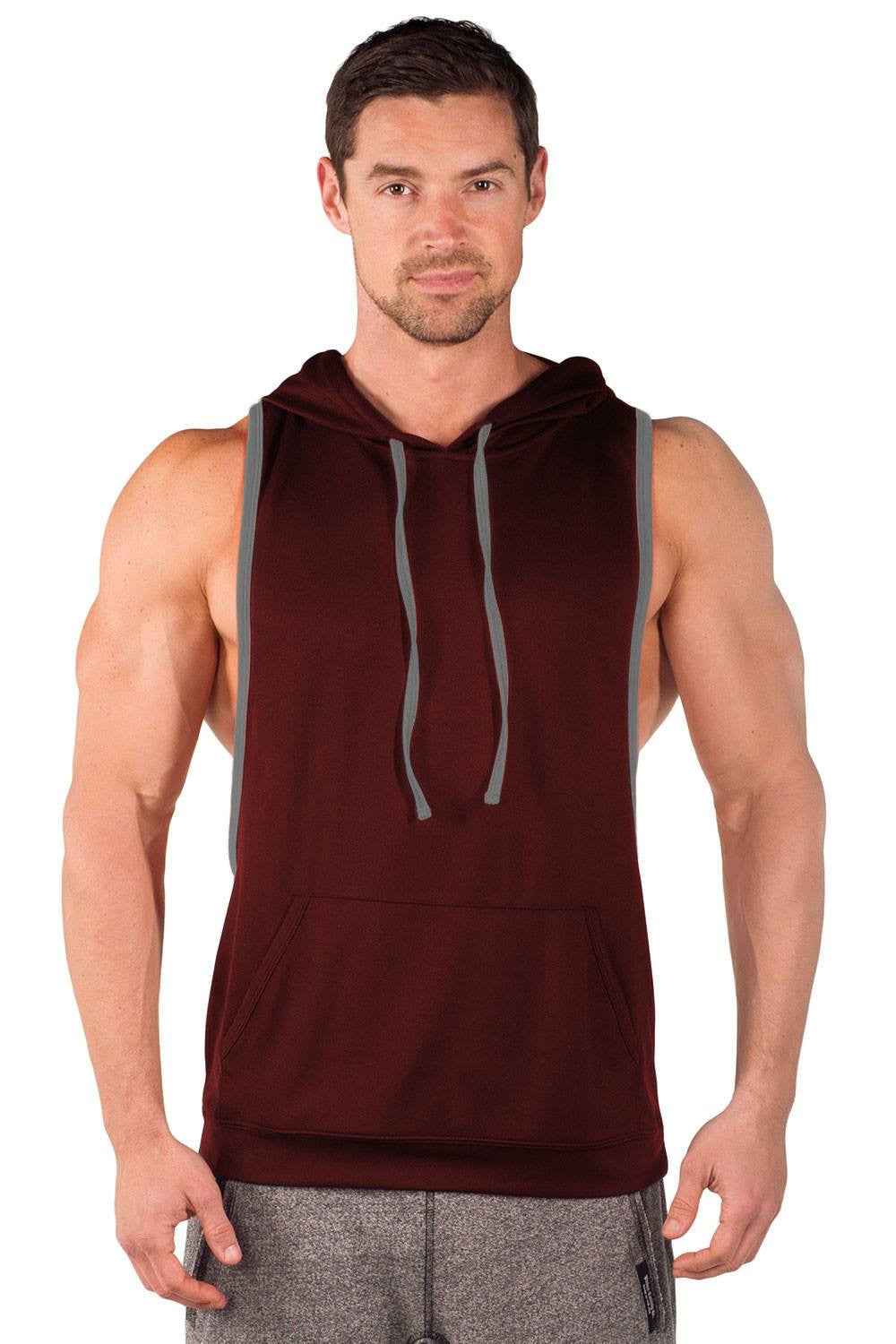 eaef0a44405b36 Two Tone Driwear Stringer Hoodie - Pitbull Clothing