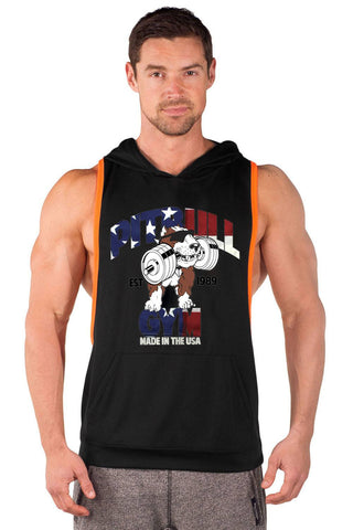 """Made in the USA"" Two Tone Driwear Stringer Hoodie"