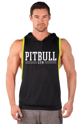 """Pitbull Gym Varsity"" Two Tone Driwear Stringer Hoodie"