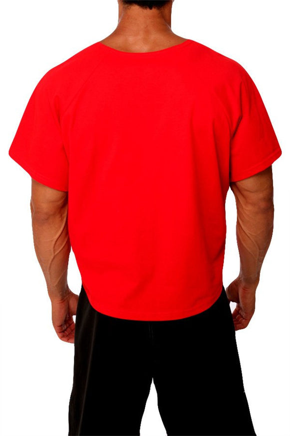 pitbull jersey rag top men gym clothing body lifting apparel fitness gear