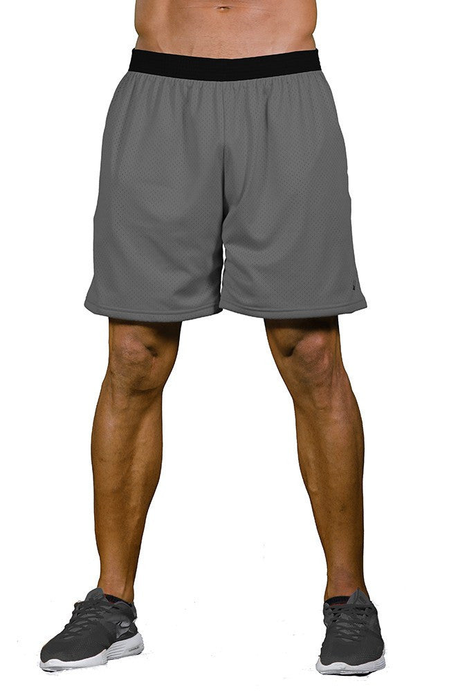 pitbull go hard reversible workout short jersey shorts basketball shorts two in one gym apparel weight lifting clothes