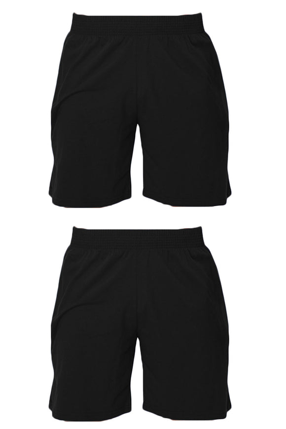2 Pack Men's Classic Cotton Pocket Short