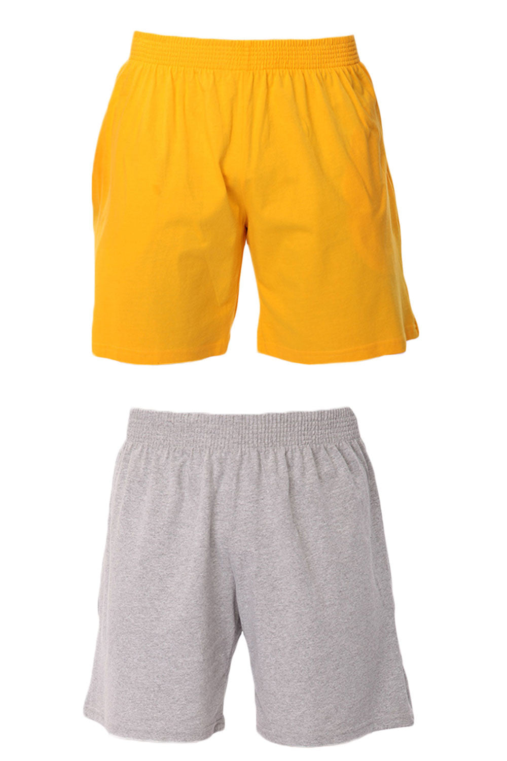 2 Pack Men's Jersey Pocket Short