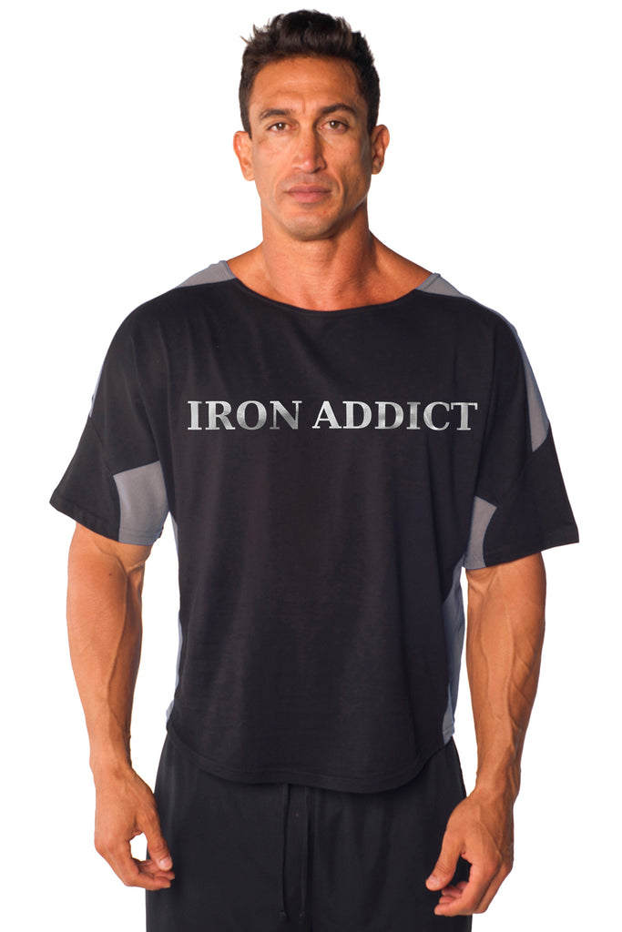IRON ADDICT Two-Tone Vintage Jersey Ragtop