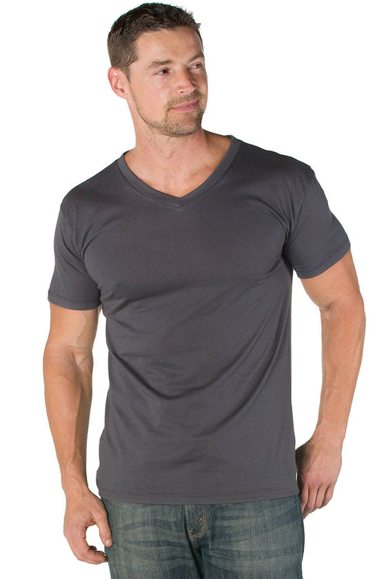 James Pima Cotton V-Neck Tee