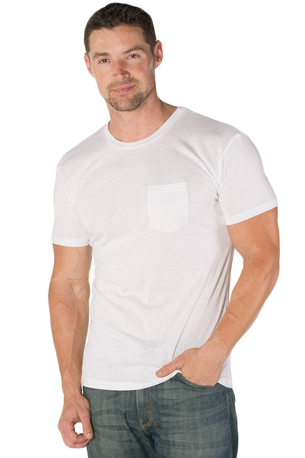 James Pima Cotton Pocket Tee