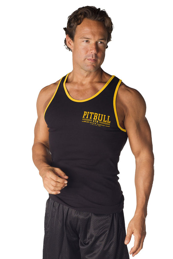 """Varsity"" Ribbed Workout Tank"