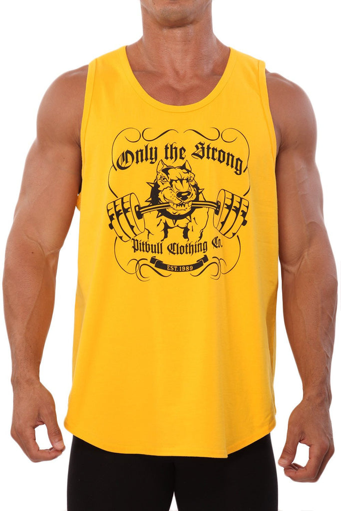 """Only the Strong"" Workout Tank"