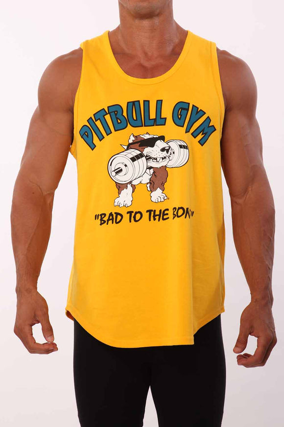 """Bad to the Bone"" Workout Cut Tank"