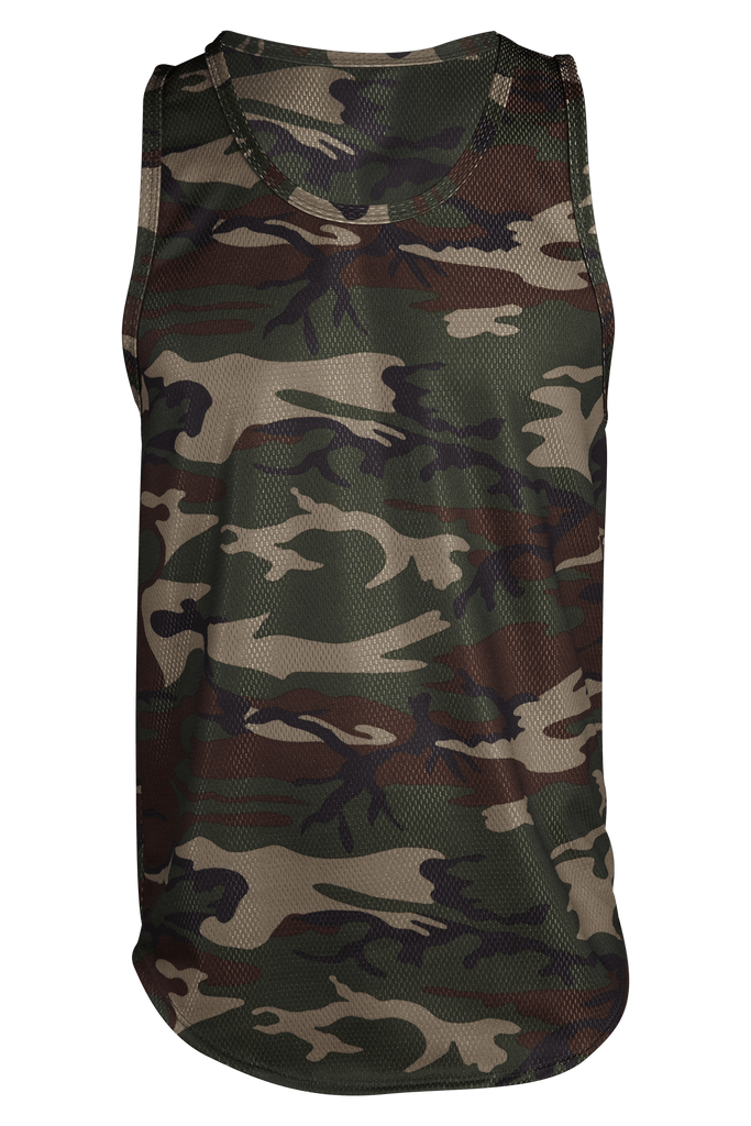 Camo DRI-FIT Workout Cut Tank