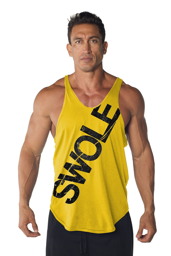 """Swole"" Stringer Tank Top"