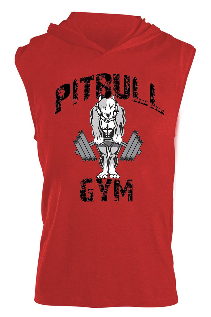 """Classic Muscles"" Sleeveless Tri-Blend Hoodie"