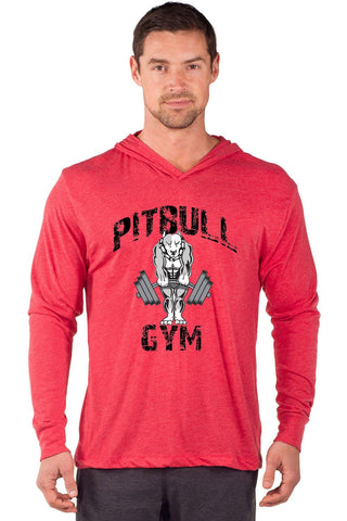 """Classic Muscles"" Long Sleeve Tri-Blend Hoodie"