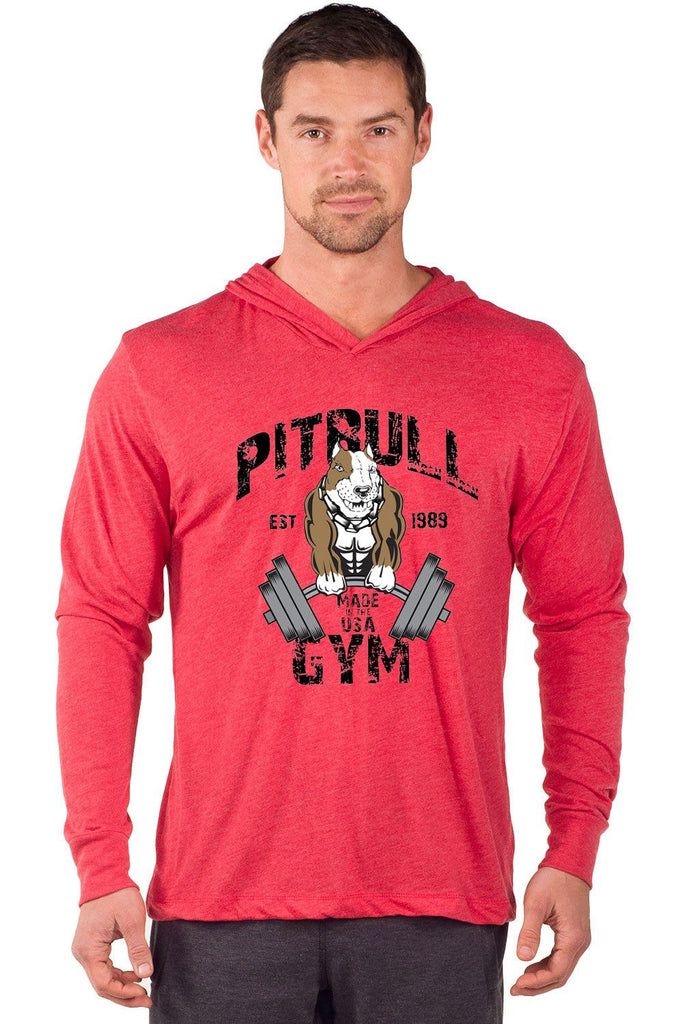 """Original Muscles"" Long Sleeve Tri-Blend Hoodie"