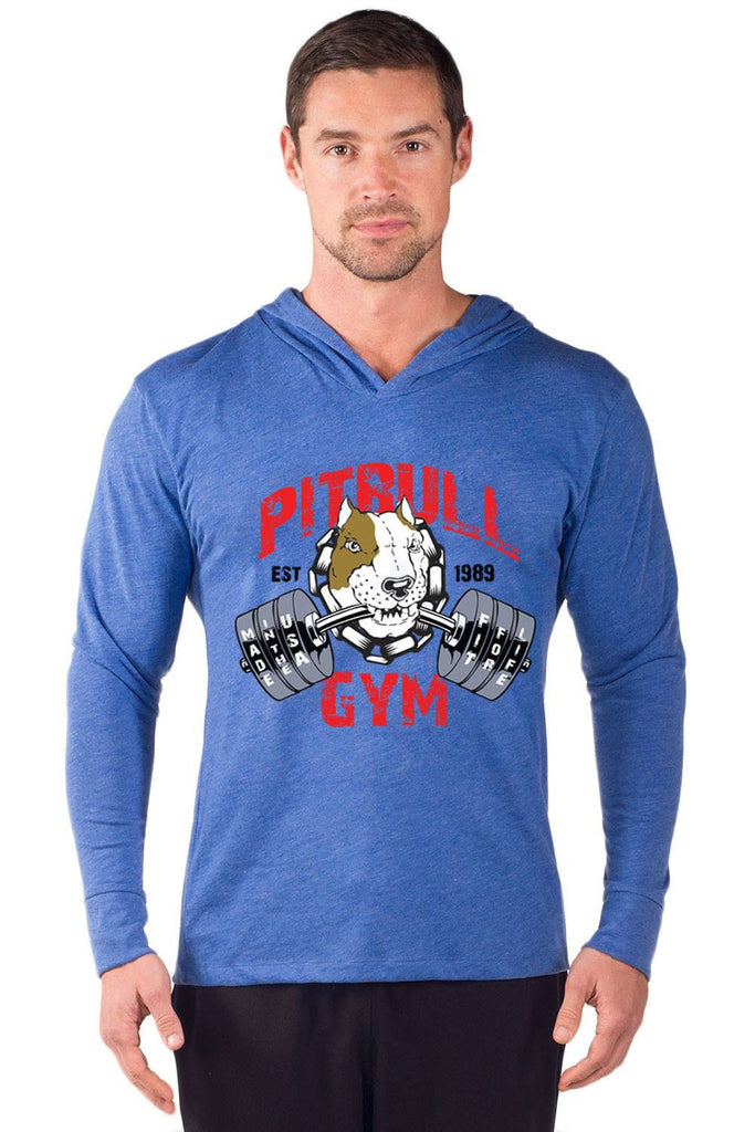 """Fit 4 Life"" Long Sleeve Tri-Blend Hoodie"