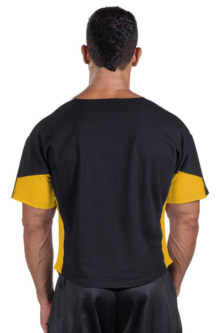 """Pitbull Gym"" Two-Tone Vintage Jersey Ragtop"