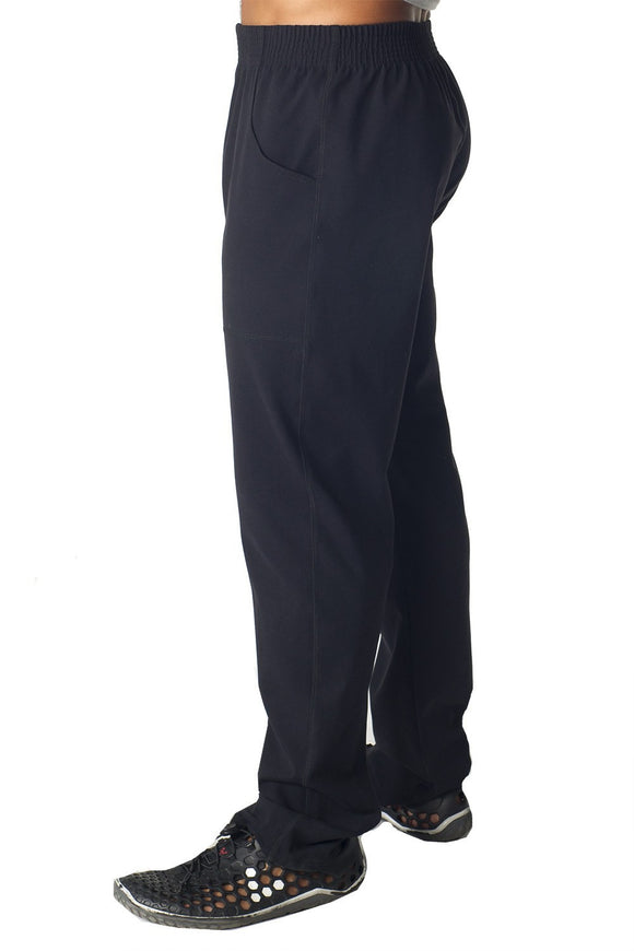 Supplex Black Kung Fu Pant