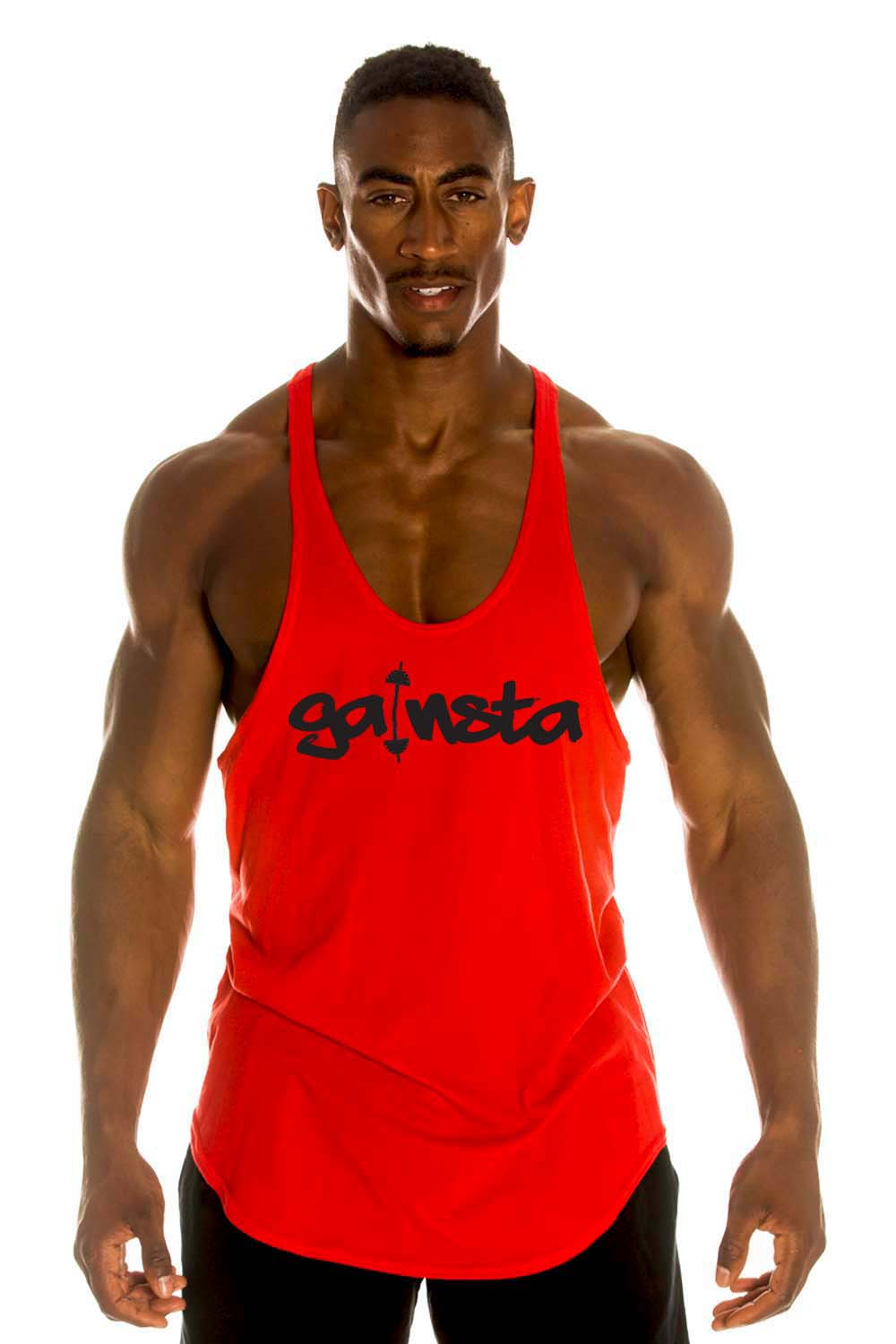 GAINSTA Cotton Stringer Tank