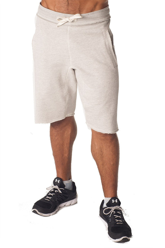 PITBULL BLACK Raw Edge Pocket Shorts