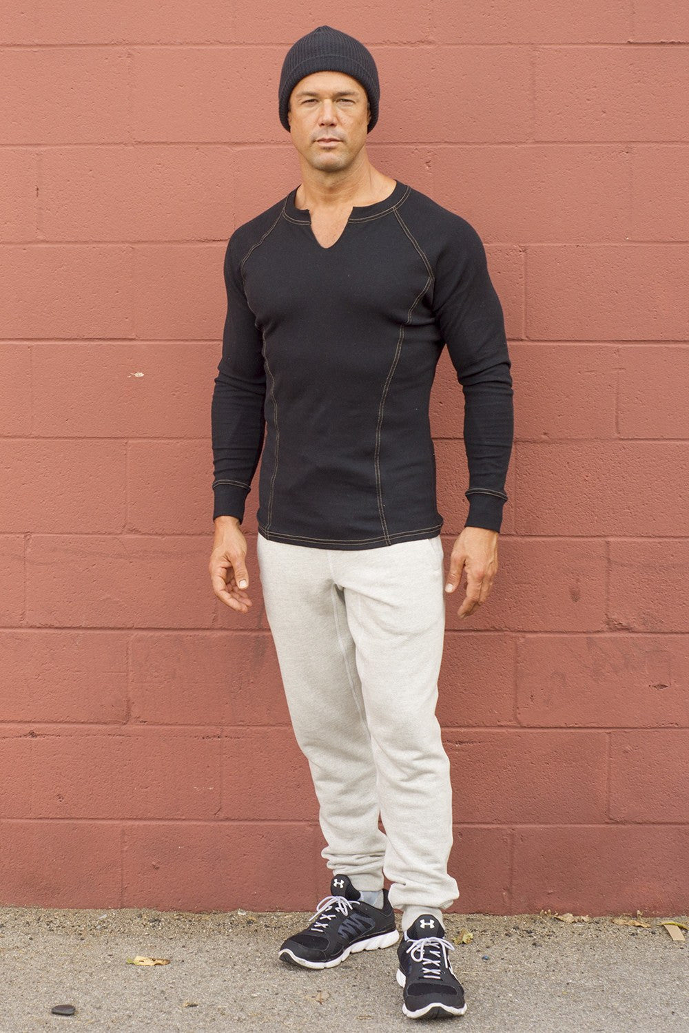 Slim Fit Cuffed Jogger Pants