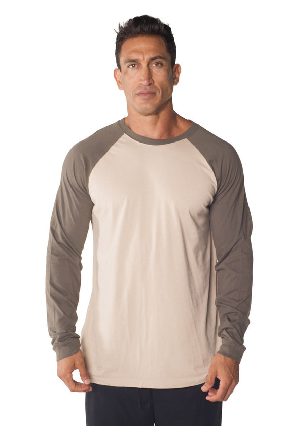 Long Sleeve Jersey Baseball Tee
