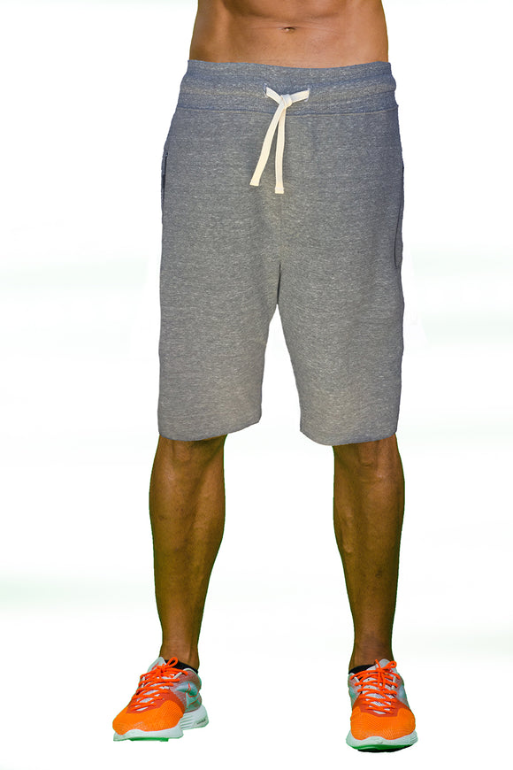 Triblend Zipper Pocket Shorts