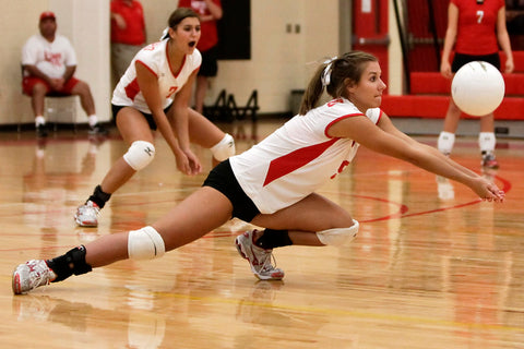 How To Dig In Volleyball