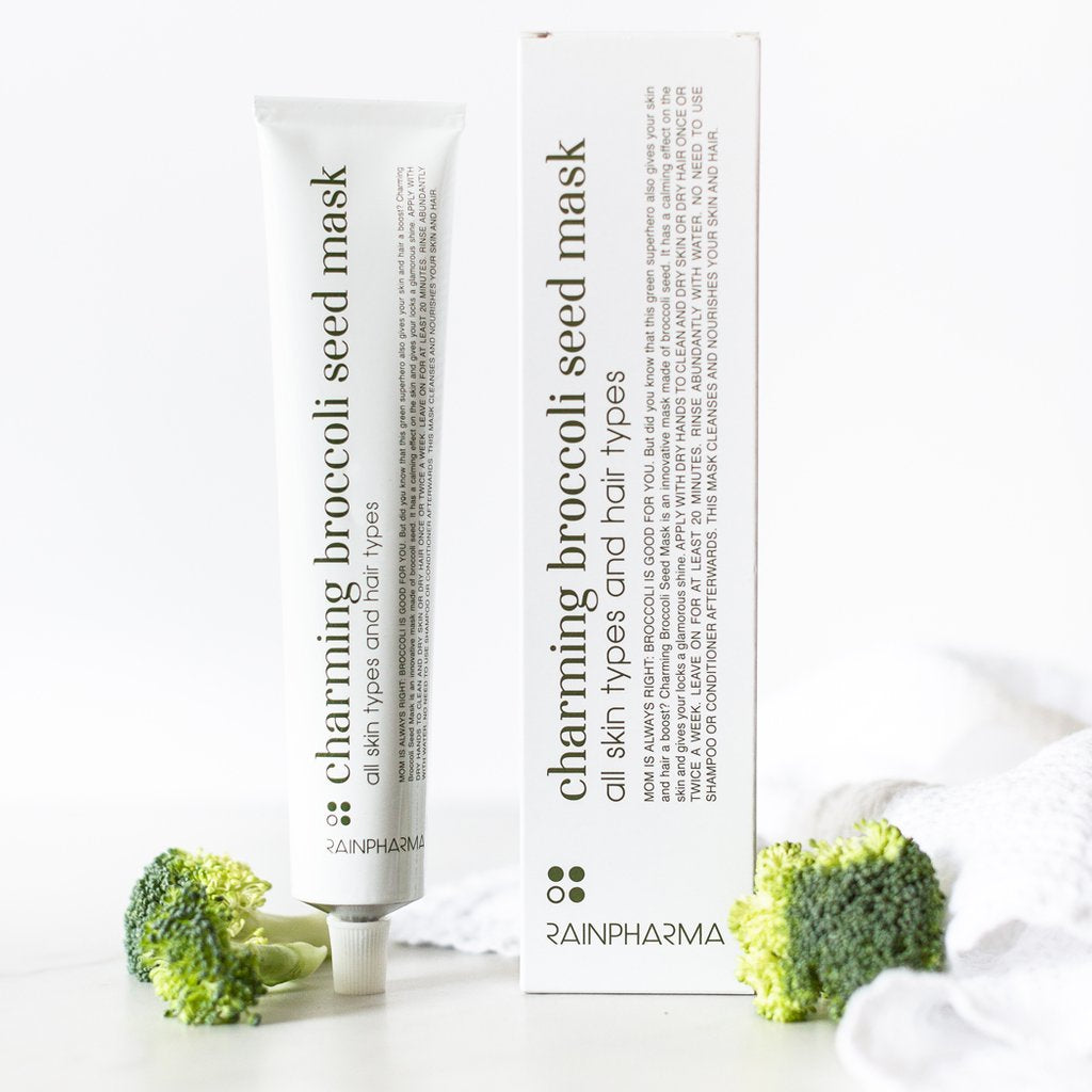 RAINPHARMA FACE & HAIR Charming Broccoli Seed Mask