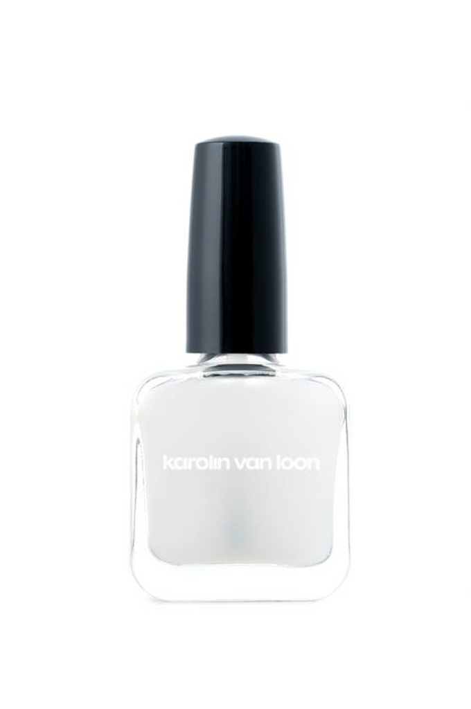 Karolin Van Loon Nail Polish 09 Craie Matte Top Coat