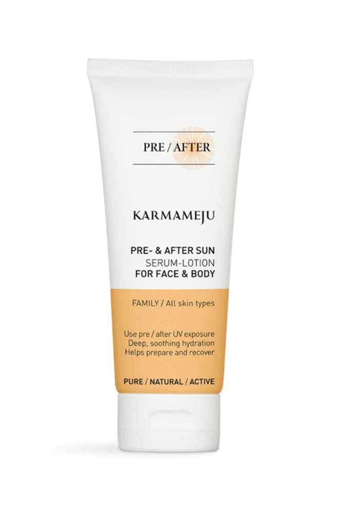 KARMAMEJU FACE & BODY PRE & AFTER SUN serum-lotion